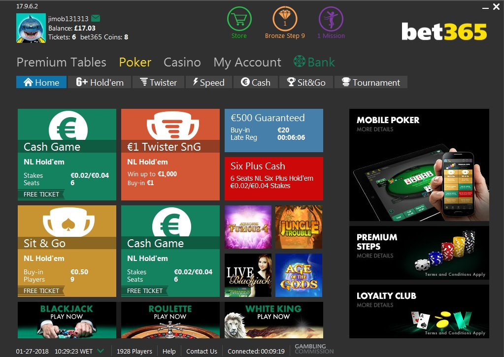 bet365-poker-norsk
